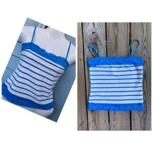 Forever21 striped camisole top size small